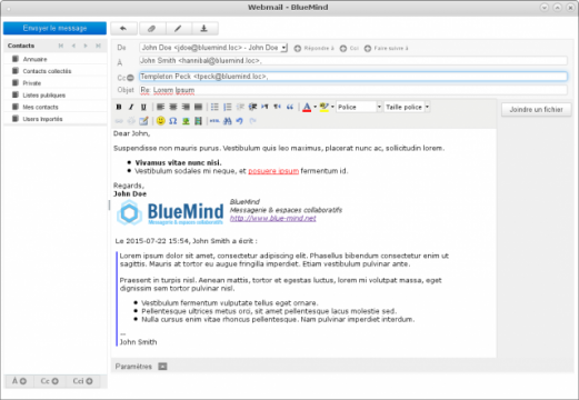Composeur BlueMind