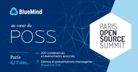BlueMind participe au Paris Open source Summit
